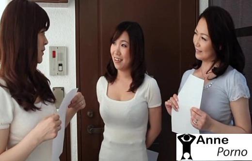 Japon Hatun Kıllı Amıyla Grup Yapıyor