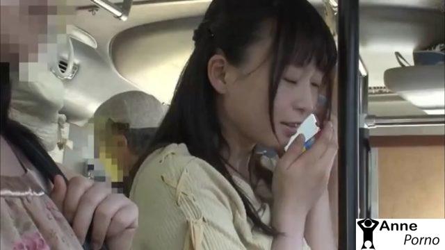 Otobüste Tecavüze Uğrayan Asyalı Zevk Alıyor