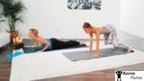 Yoga Esnasında Anne Kız Lezbiyen Fetişlerini Sergiledi